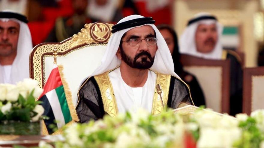 Un tribunal dicta que el emir de Dubái secuestró a dos hijas y amenazó a su mujer