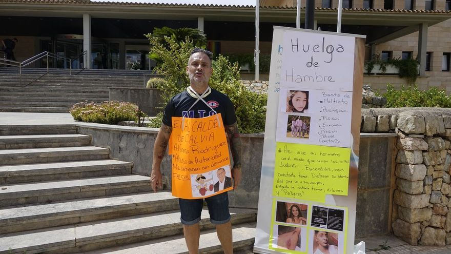 El padre de Malén Ortiz, desaparecida en Mallorca en 2013, en huelga de hambre tras ser detenido por amenazar al alcalde de Calvià