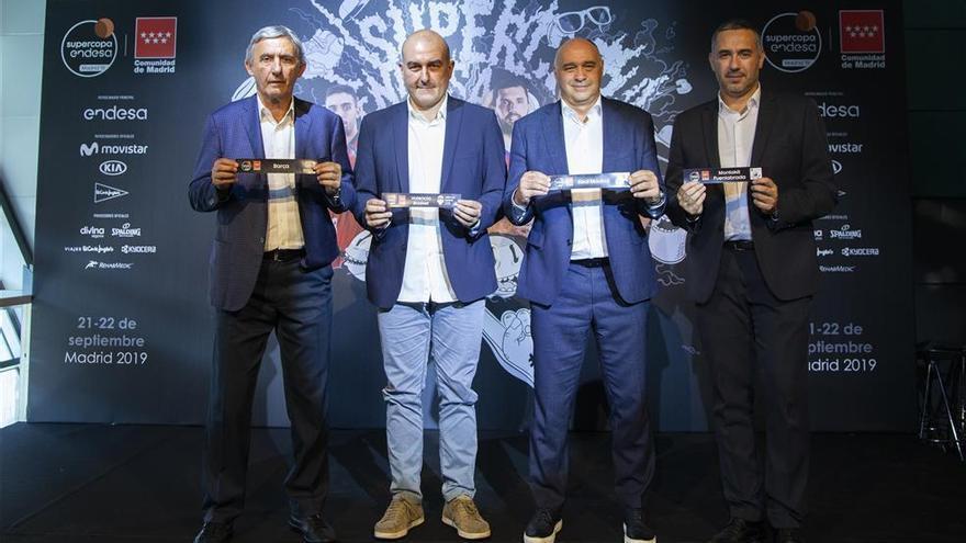 Madrid-Fuenlabrada y Barcelona-Valencia, semifinales de la Supercopa Endesa
