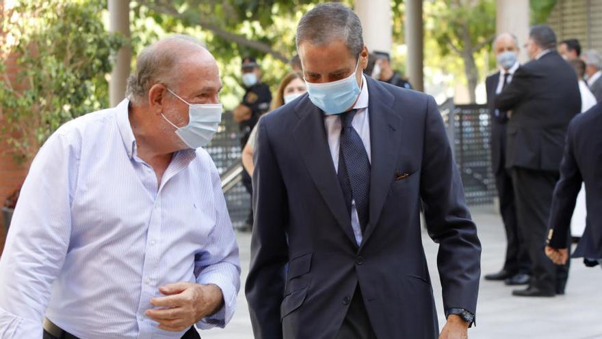 El caso Zaplana seguirá investigándose en València en contra de lo que él pretendía