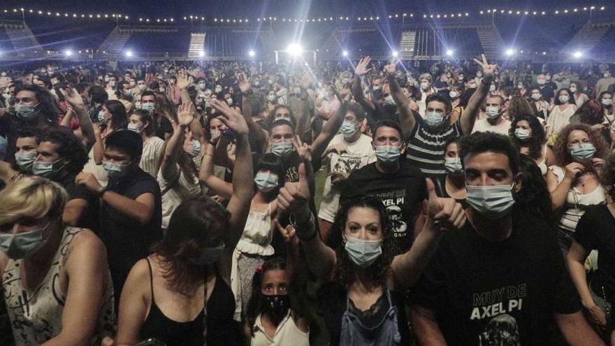 Mallorca tanzt wieder - erstes Konzert mit 3.000 Besuchern