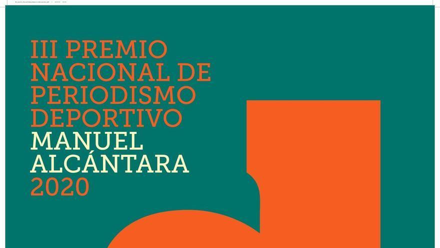La Fundación Manuel Alcántara convoca el III Premio Nacional de Periodismo Deportivo Manuel Alcántara