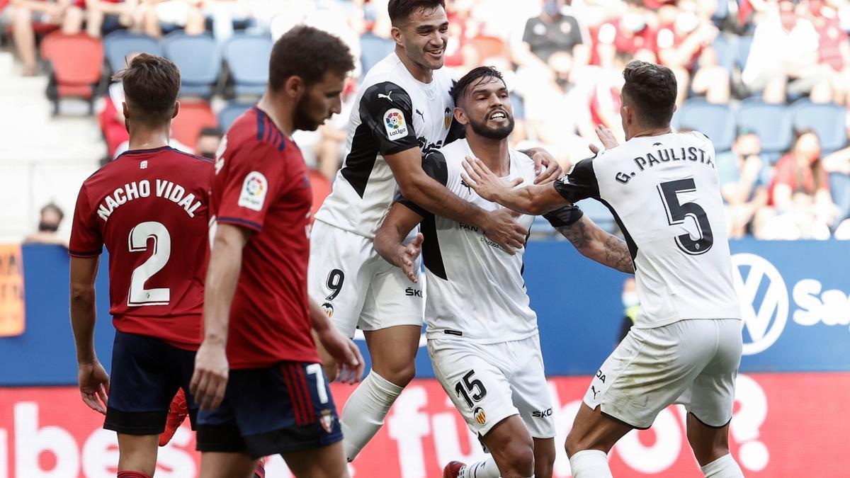 Alderete anotó ante Osasuna
