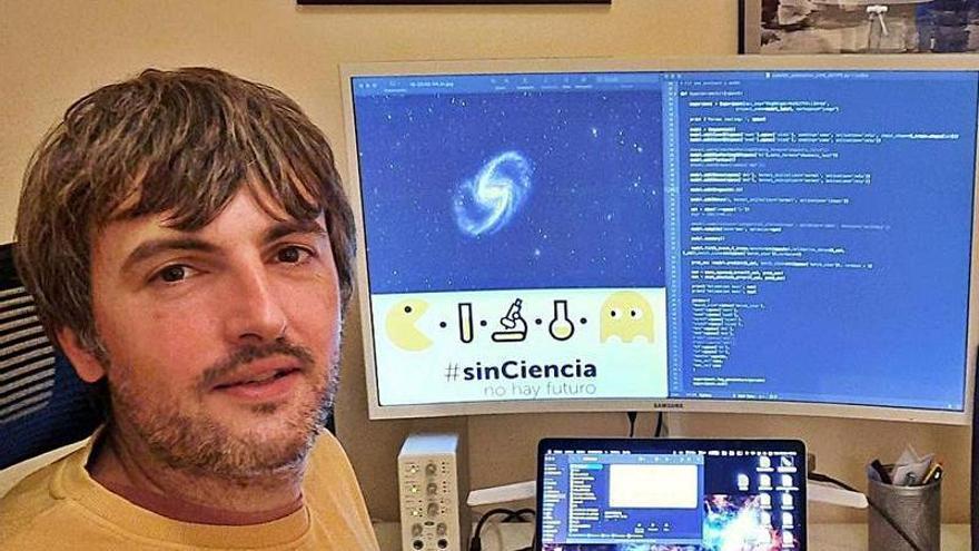 Jesús Vega: l'astrofísicu asturianu que clasificó 27 millones de galaxes