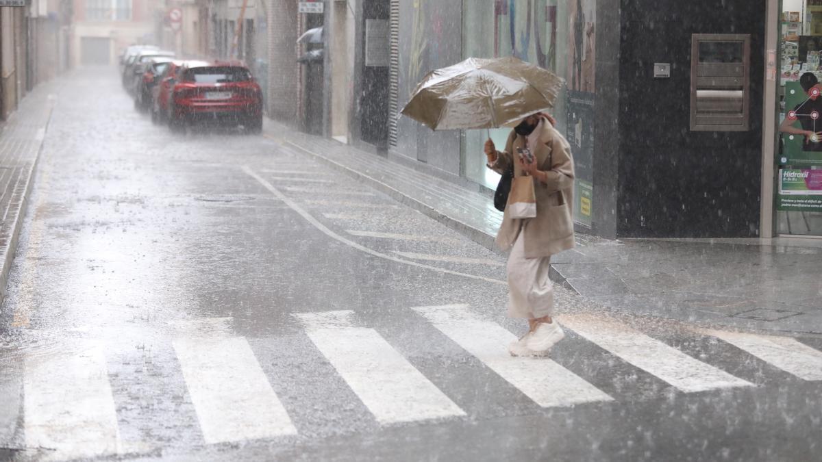 El tiempo en Valencia anuncia hoy tormentas con granizo y lluvias fuertes en buena parte de la provincia, según la Aemet.