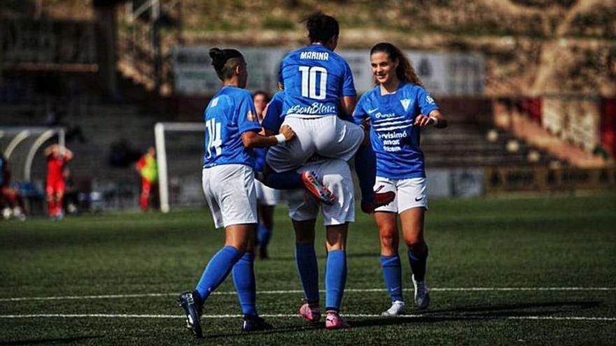El CF Igualada goleja l'Andorra i manté el lideratge a Preferent
