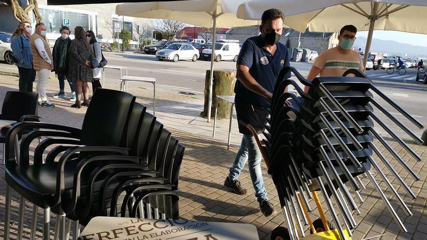 El paro baja en 756 personas en febrero en Galicia