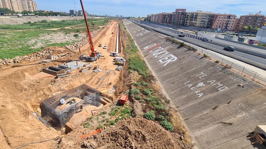 Una tubería gigante conecta las dos plantas potabilizadoras metropolitanas