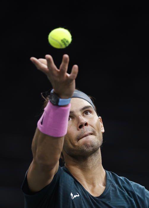 Masters 1.000 de París: Rafa Nadal - Pablo Carreño