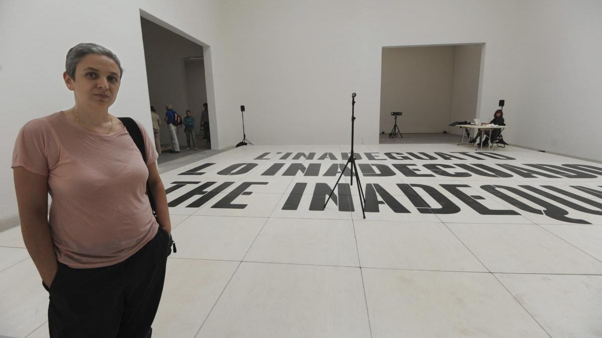 La artista Dora García abrió ayer el programa de conversaciones Públicos.