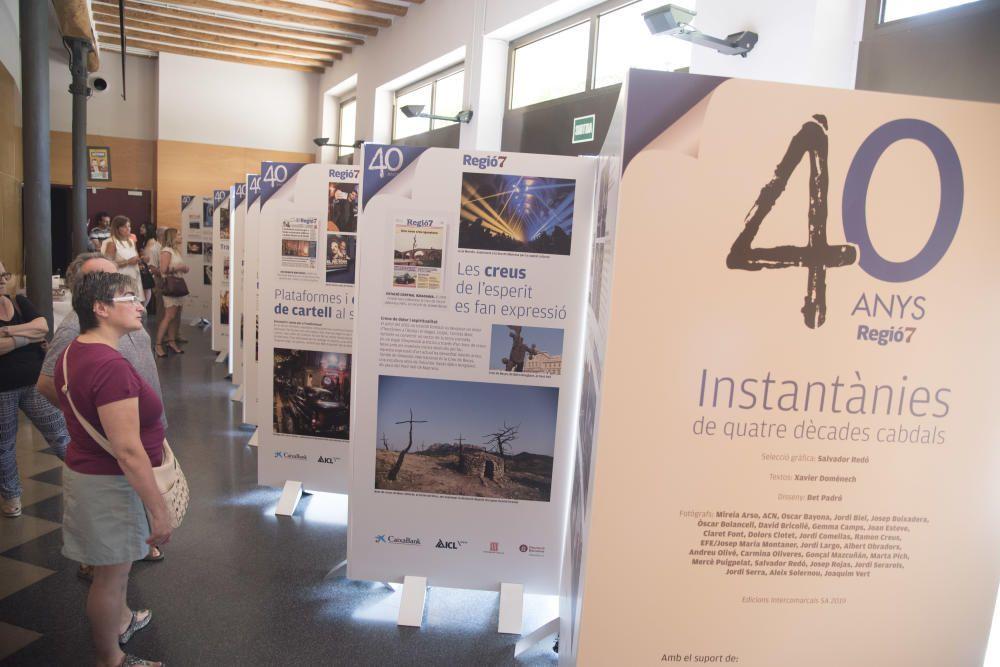 Sant Joan de Vilatorrada acull l'exposició dels 40