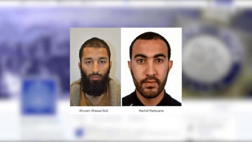 La Policía identifica a dos de los terroristas de Londres: Khuram Shazad y Rachid Redouane