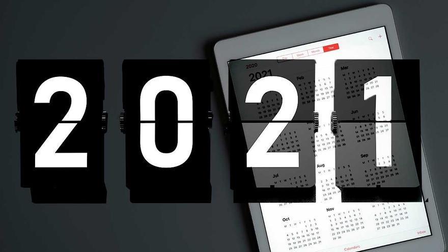 El calendario laboral en Vigo en 2021