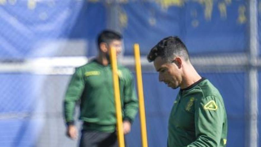 """Herrera: """"Si todo va bien, Maikel Mesa estará en la convocatoria esta semana"""""""