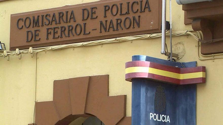 Detenido en Narón por dar un 'machetazo' en la cara a otro joven