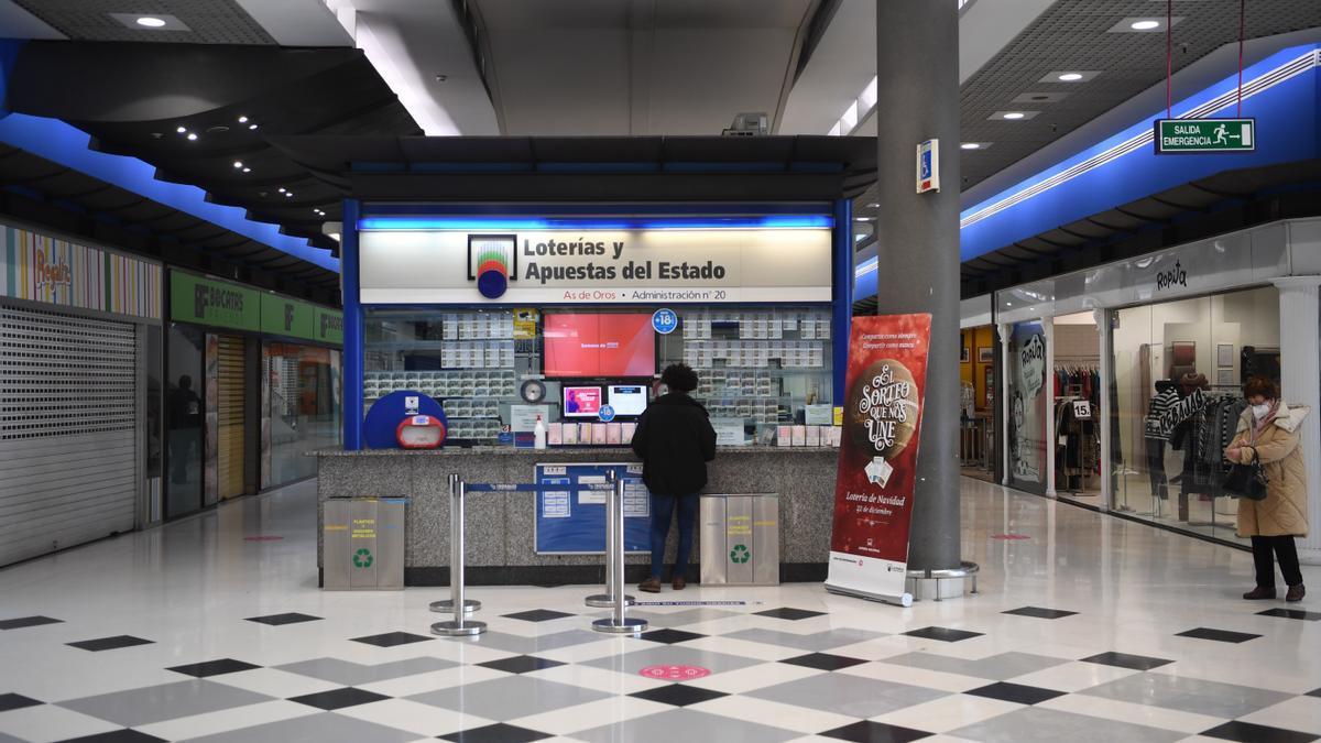Interior de un centro comercial