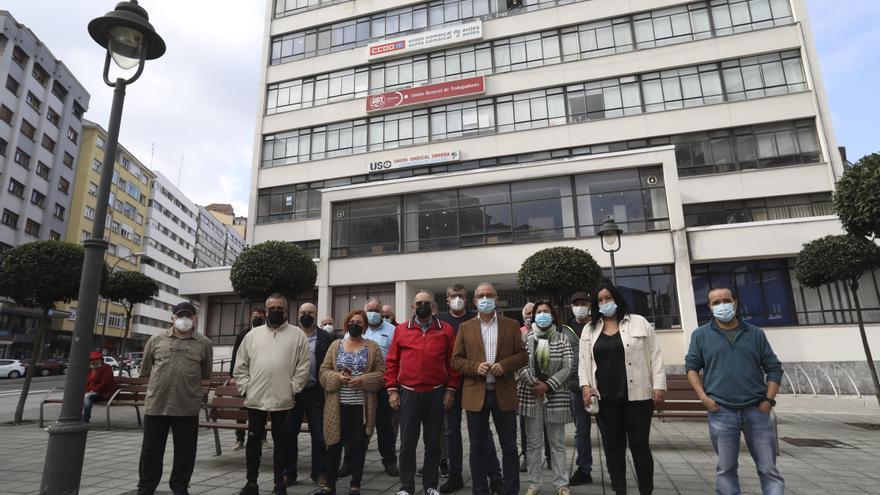 UGT y CC OO de Avilés condenan los asaltos a la sede del sindicato italiano CGIL