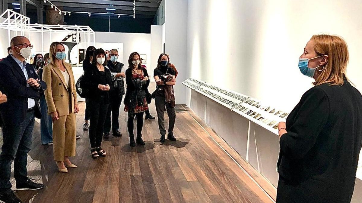 La muestra se inauguró hoy en el Museo del Mar. // Consellería de Cultura