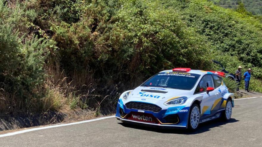 Enrique Cruz, número dos en el Rallye Isla de Gran Canaria
