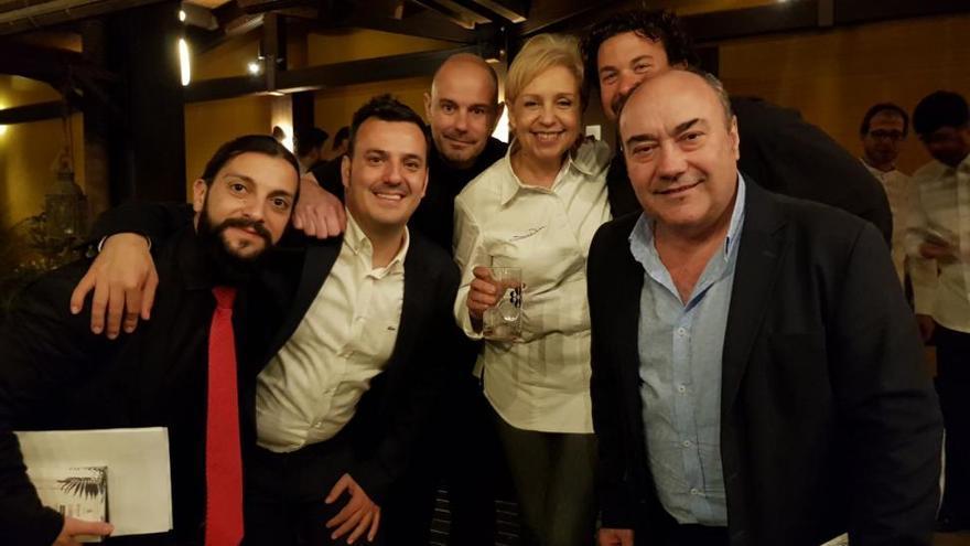 El chef Miguel Barrera participa en el homenaje a Paco Torreblanca