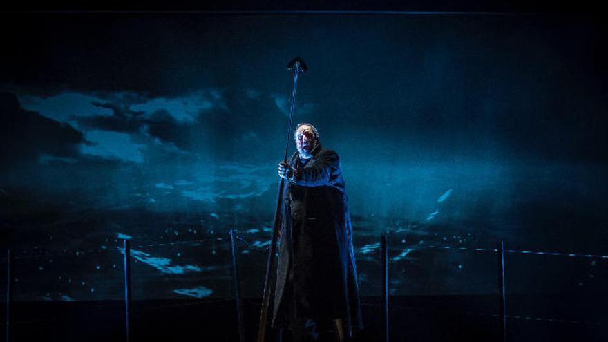 """""""Representar al capitán Ahab en Gran Canaria es mi regalo a Orson Welles"""""""