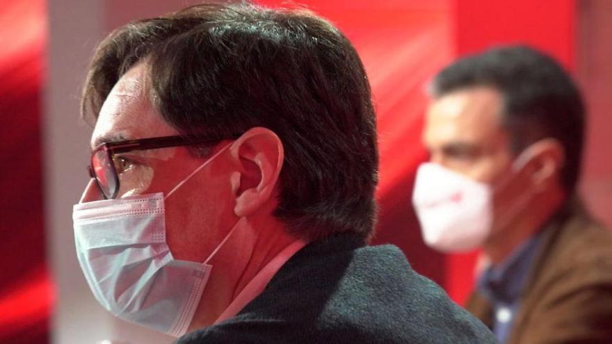 Sánchez viajará cinco veces a Cataluña para apoyara Illa
