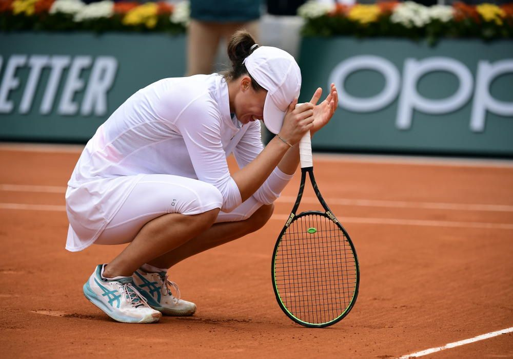 Swiatek arrasa a Kenin y gana Roland Garros