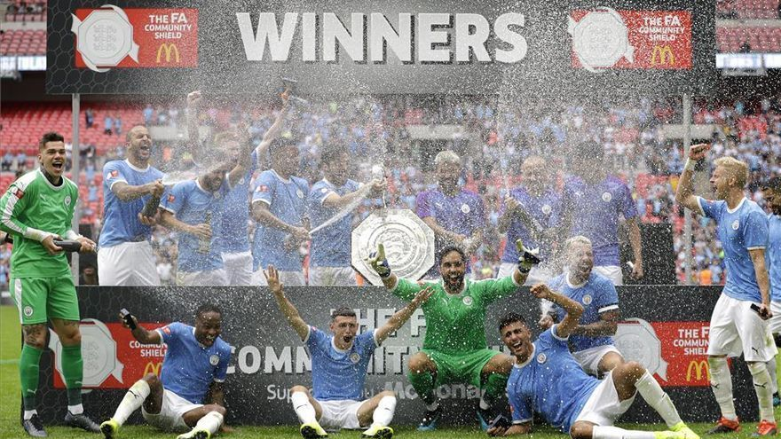 El Manchester City se adjudica la Community Shield