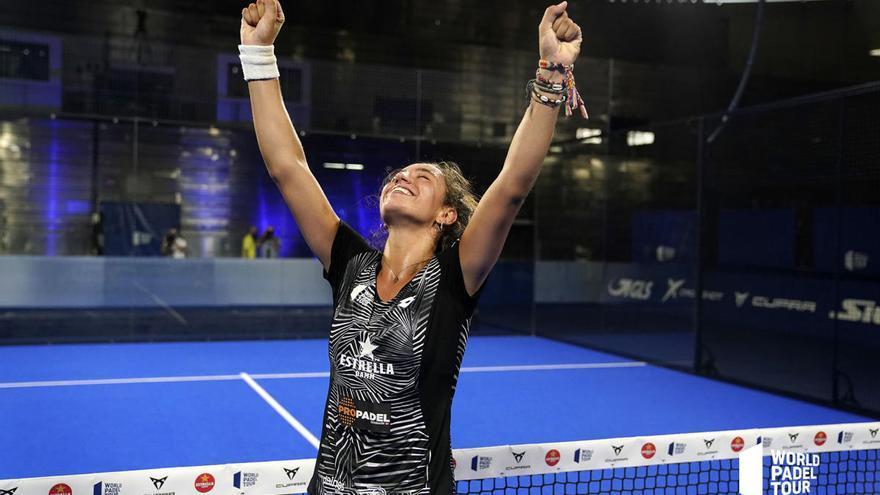 Bea González, la más joven de la historia en ganar un Open de padel