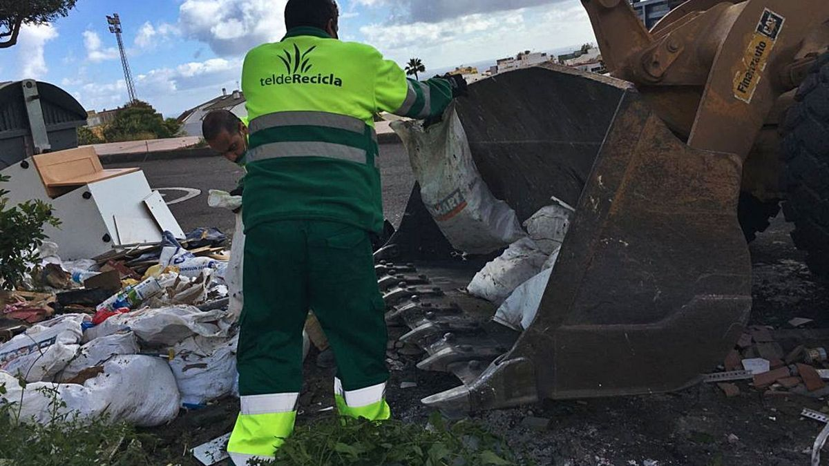 21.000 kilos de escombros    LP / DLP