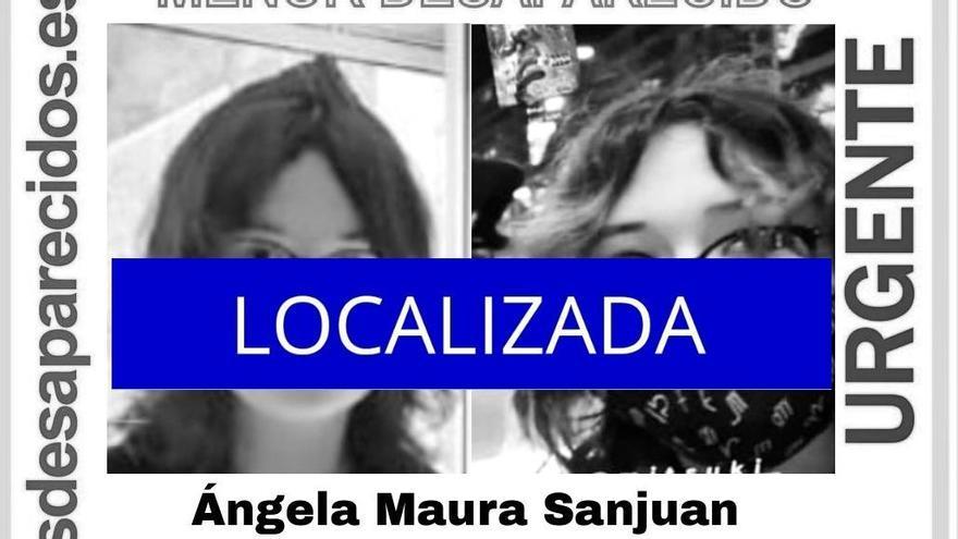 Localizan en buen estado a la menor desaparecida en Vigo