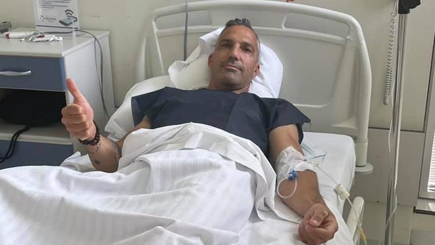 Emilio Merchán se recupera tras su operación