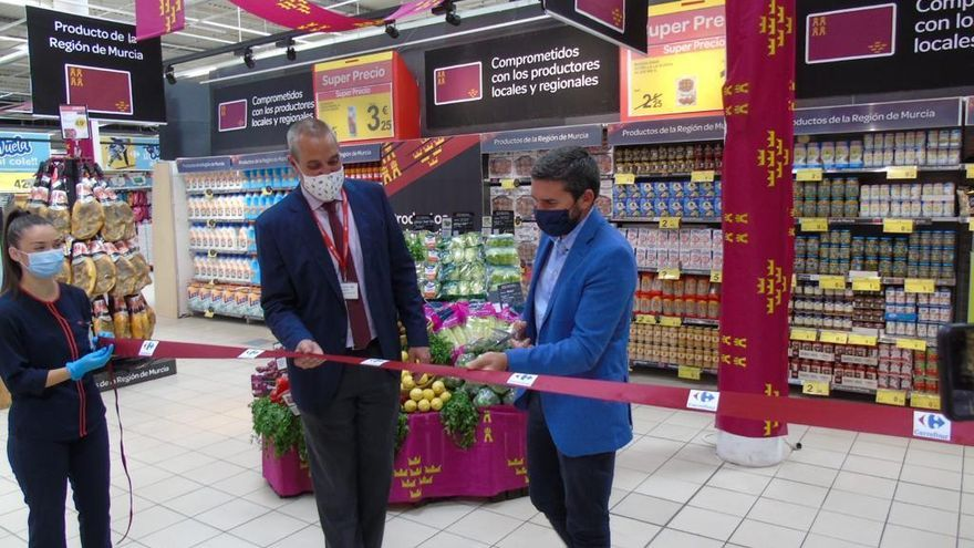 Carrefour apoya a los productores de la Región
