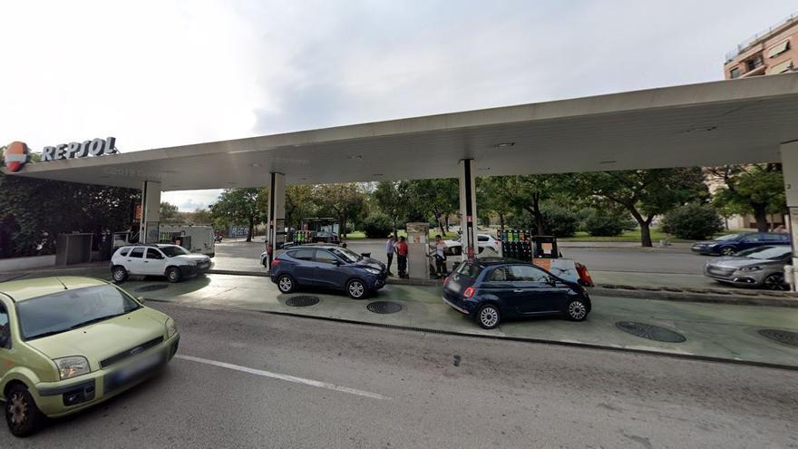 El ayuntamiento de Palma cierra la gasolinera de las Avenidas