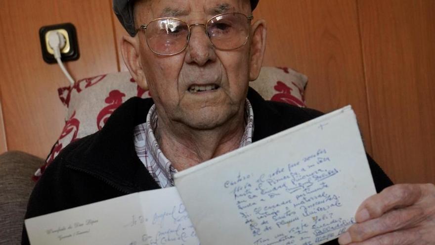 """La correspondencia de Miguel Delibes con un agricultor de Guarrate: """"Uve de Dios, querido amigo"""""""