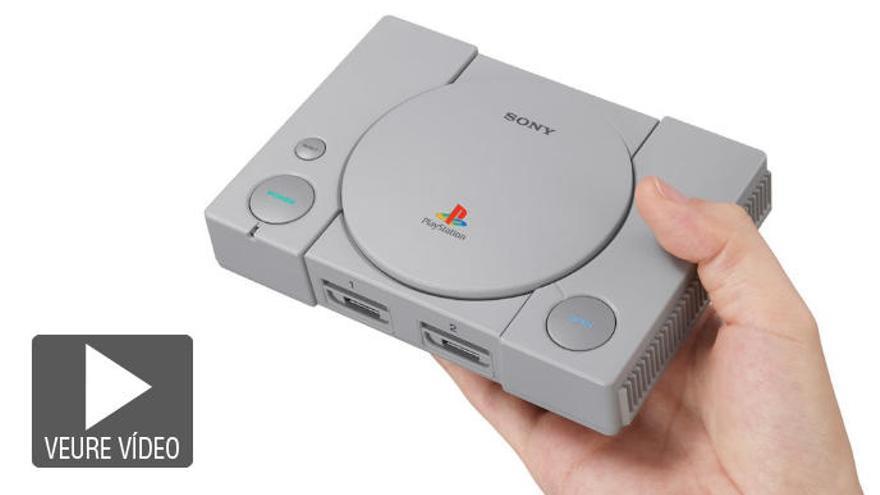 Sony anuncia PlayStation Classic, una versió mini de la seva icònica consola