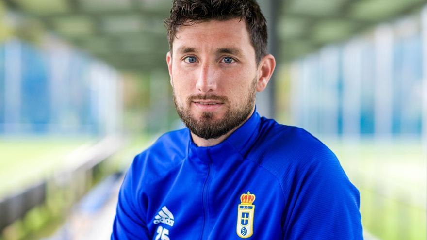"""Borja Valle responde a todo: """"En el Oviedo no hay menos exigencia, lo que hay es coherencia"""""""