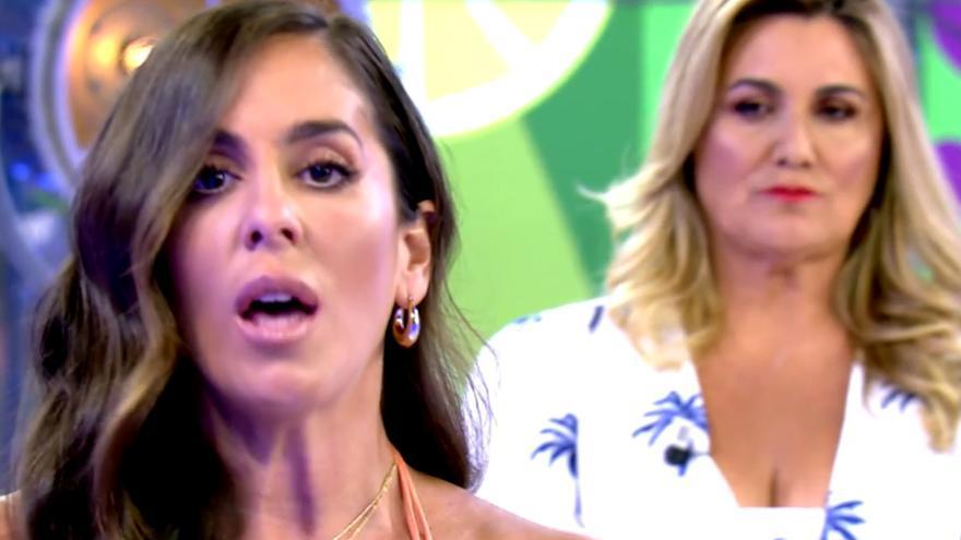 """Anabel Pantoja, contra 'Sálvame' por unos audios de su tía: """"De esta mierda no hablo"""""""