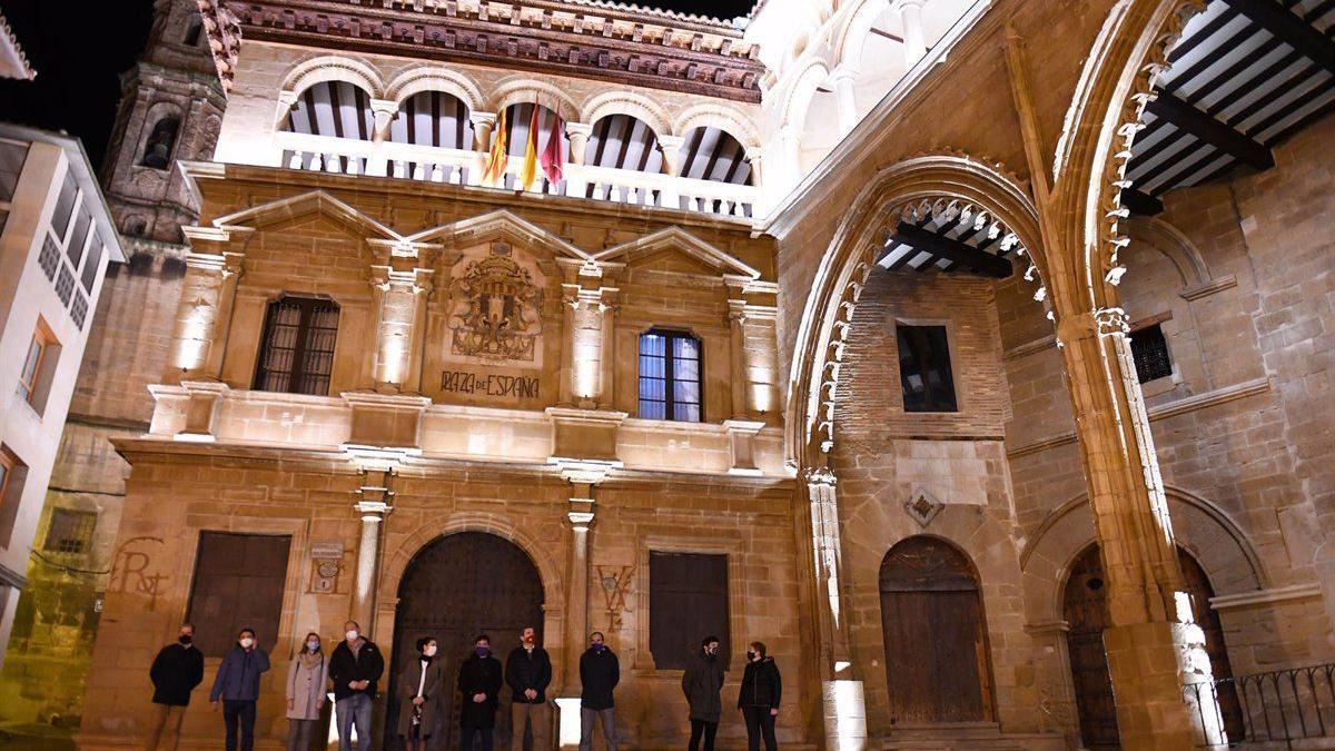 Fachada del Ayuntamiento de Alcañiz