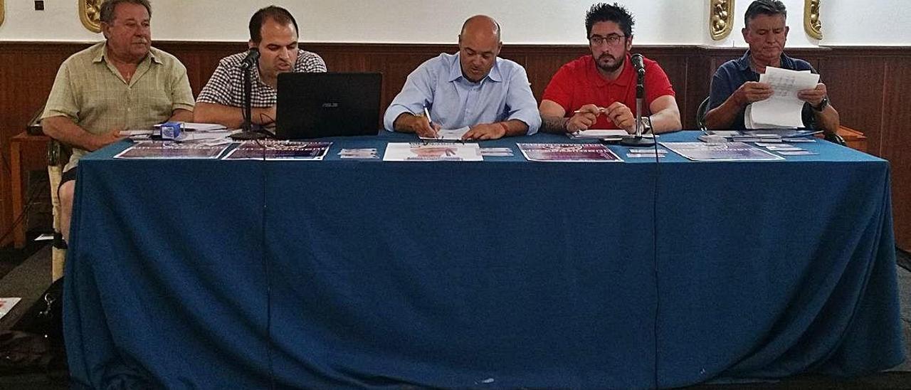 Asamblea general de la UD Alzira en una imagen de archivo.