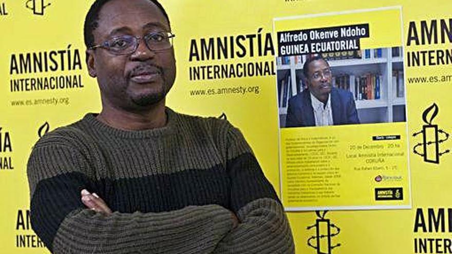 """Alfredo Okenve: """"Lo que España hace por Guinea Ecuatorial no es ni lo mínimo"""""""