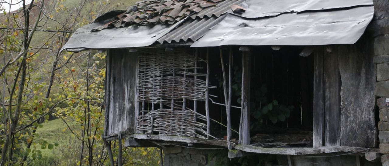 Una cuadra abandonada