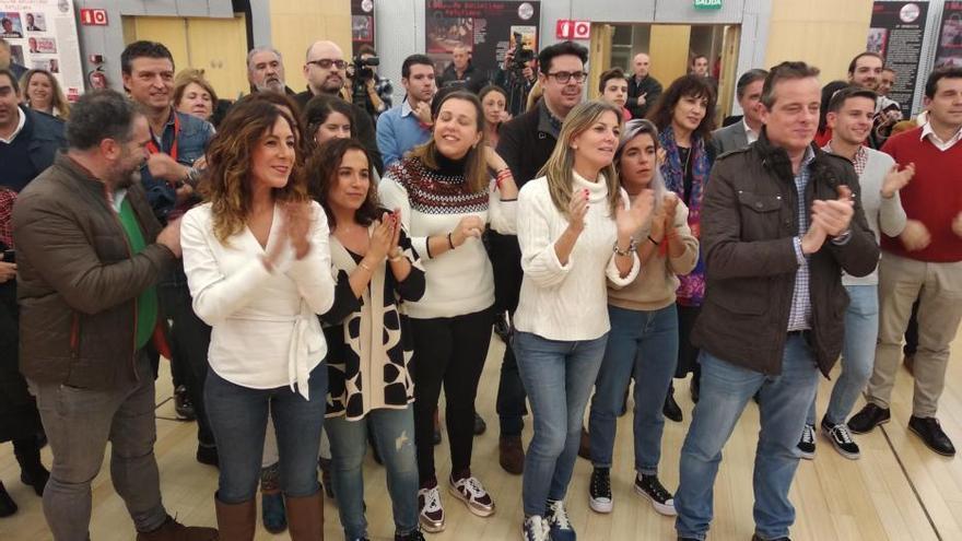 Noche electoral en Asturias: así se vivió en el PSOE