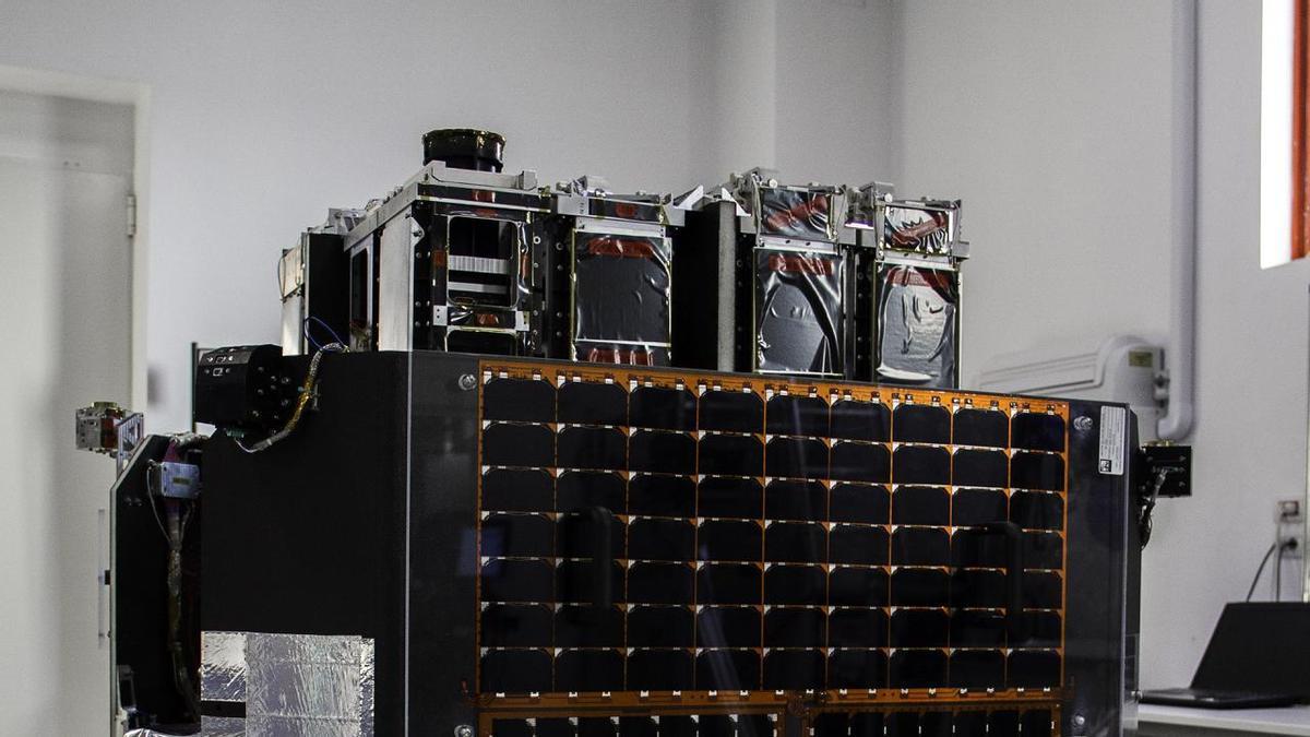 Imagen de la plataforma satélite ION SCV LAURENTIUS, donde se integrará el instrumento DRAGO.