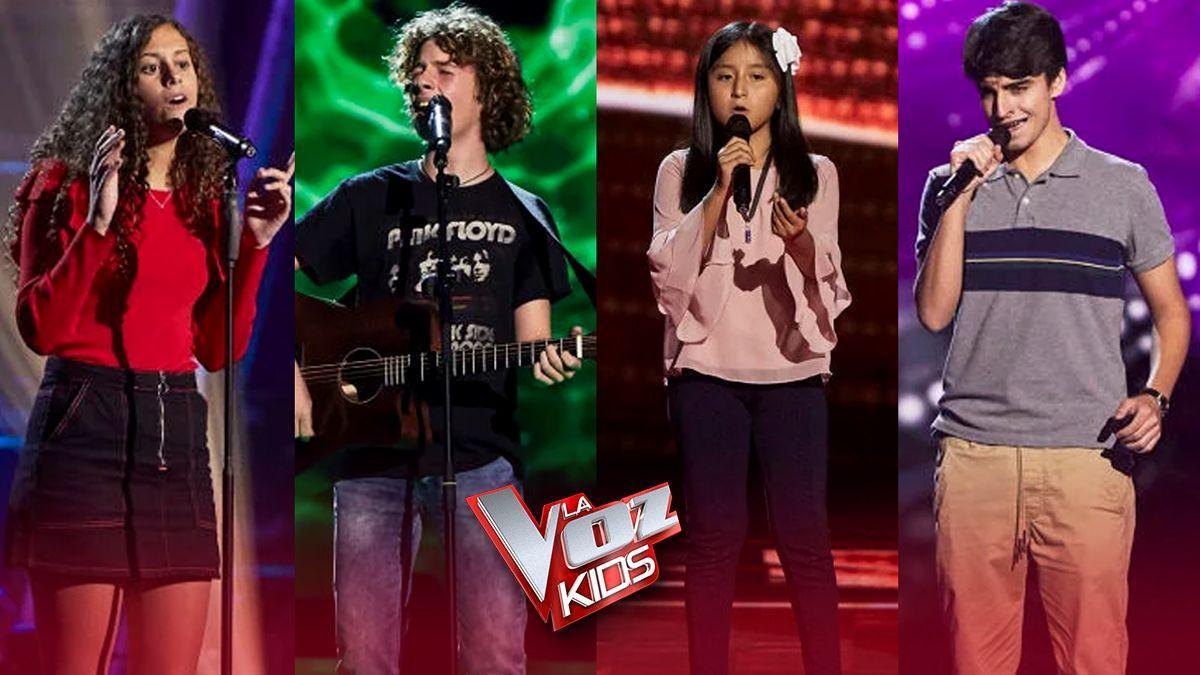 'La voz kids': así suenan las nuevas voces.