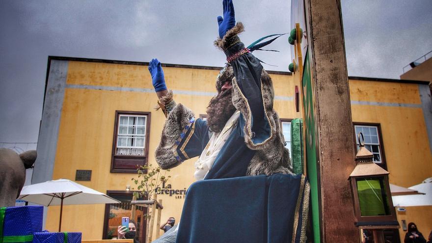 Los Reyes Magos llevan la magia a Aguere