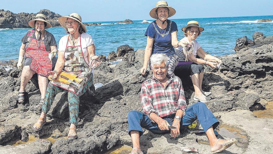 Mujeres la mar de tradicionales