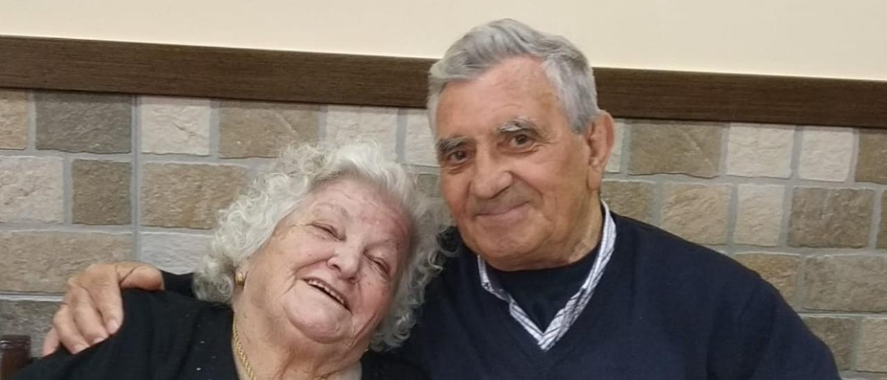 Ángela Mayor Puente y Miguel Ángel Granda Granda.
