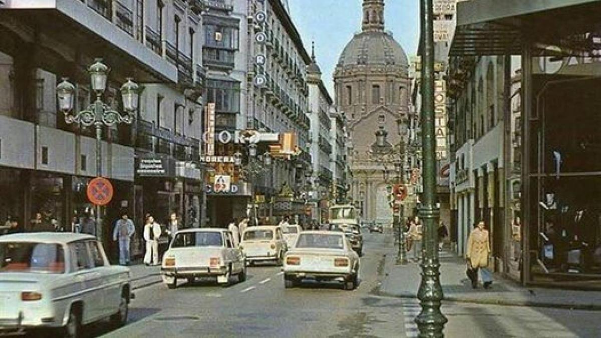 La calle Alfonso en 1978.