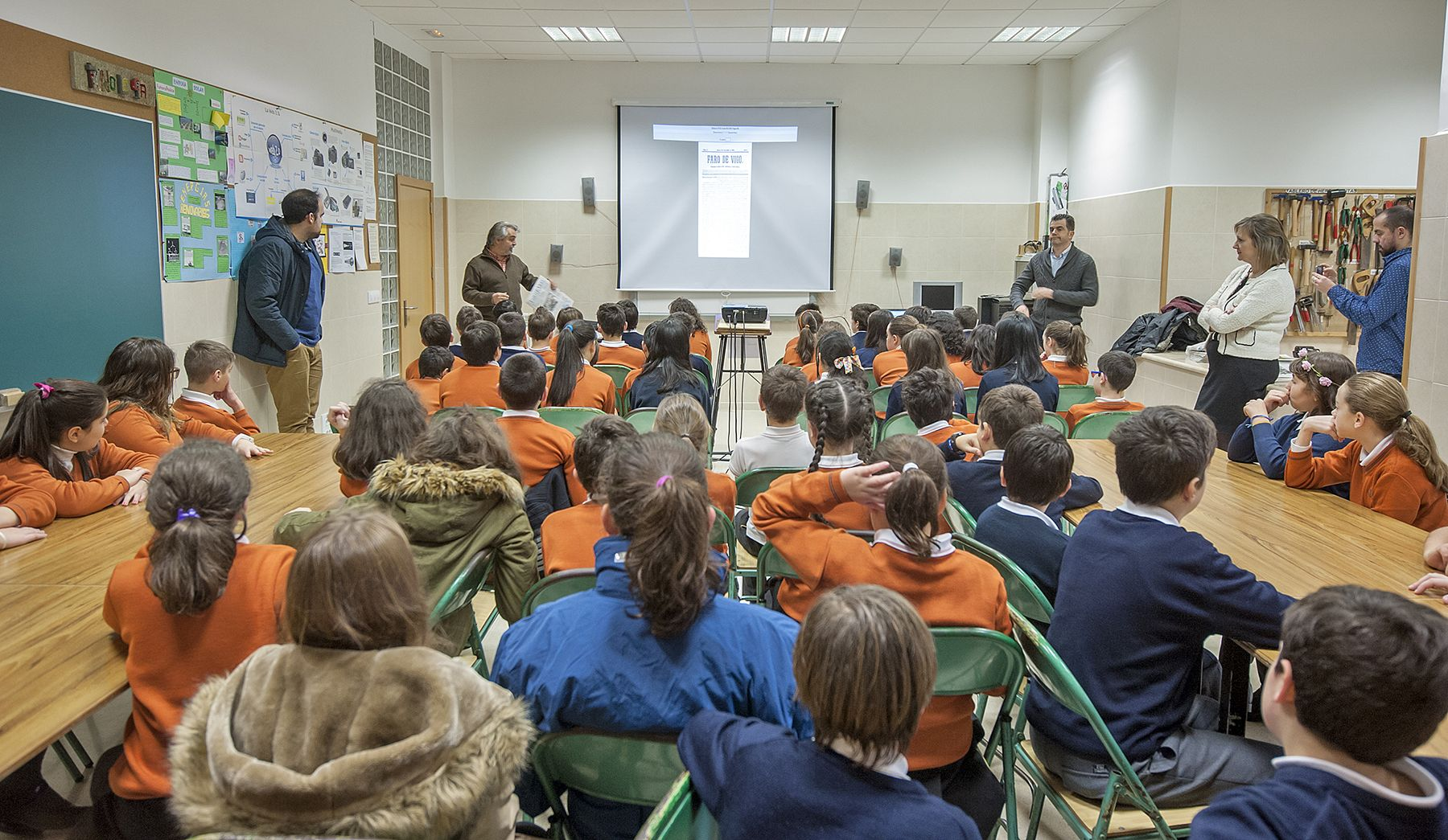 Visita a Faro de Vigo del CPR Plurilingüe Mariano el curso 2015-16